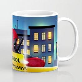 Dead Pool Taxi Night Coffee Mug