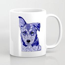 Rufus in Blue Coffee Mug