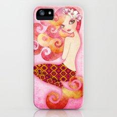 Coraleen, Mermaid in Pink iPhone (5, 5s) Slim Case