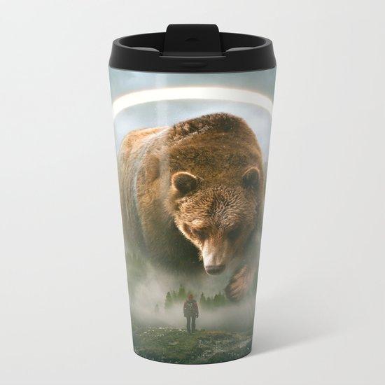 aegis | bear Metal Travel Mug