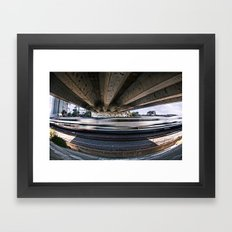 Movement Underneath Framed Art Print