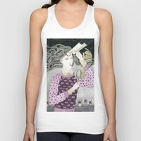 glasses Tank Tops featuring Glasses by Yuliya