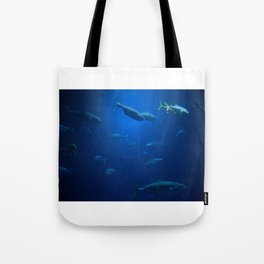 Just Swimming Tote Bag