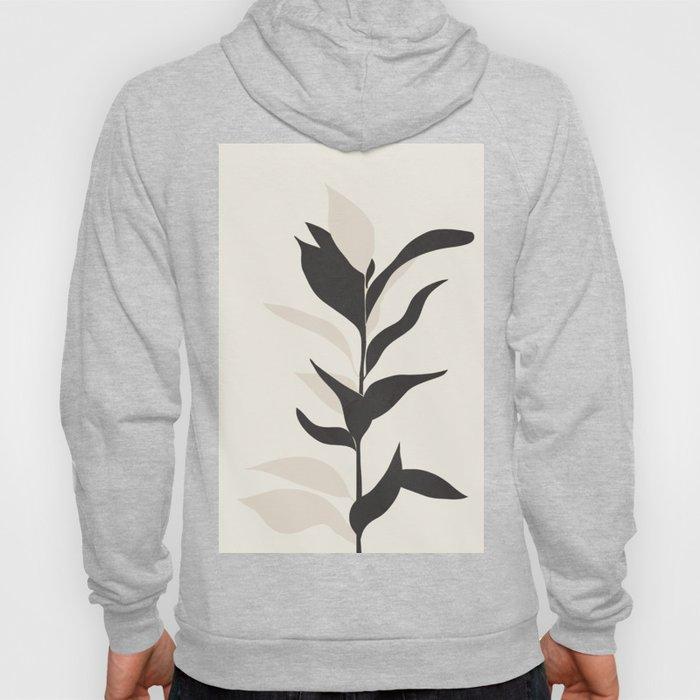 Abstract Minimal Plant Hoody