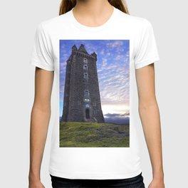 Scrabo tower sunset - Newtownards T-shirt