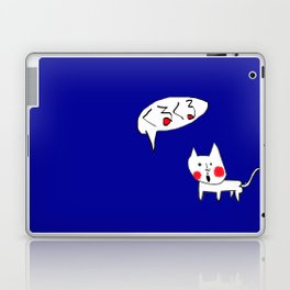 Kitsch Cat ! Miaow Laptop & iPad Skin