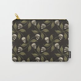 CAMO CHERRY SKULL Carry-All Pouch