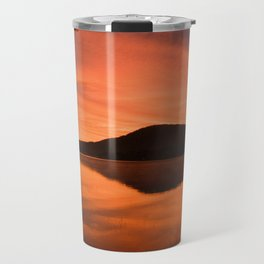 Dawn on Fire: Lac du Saint Sacrement Travel Mug