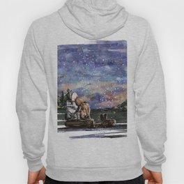 Love, sky and mountains Hoody