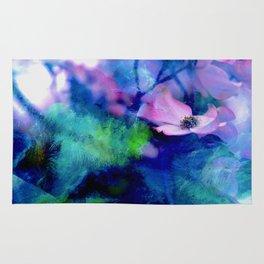 Paint, Petals & Branches Rug