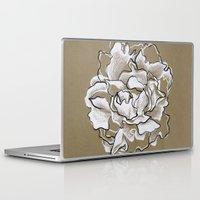 peony Laptop & iPad Skins featuring Peony by Mich Li