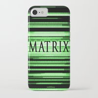 matrix iPhone & iPod Cases featuring Matrix by Svetlana Sewell