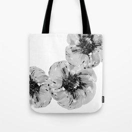 Graphic Poppy Tote Bag