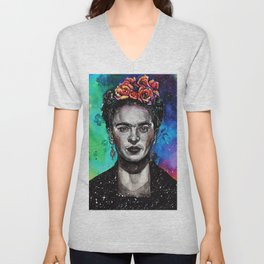 Frida Kahlo Unisex V-Neck