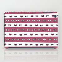 haikyuu iPad Cases featuring Haikyuu!! Shiratorizawa Bows by InkyThoughts