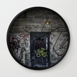 Knock Knock Wall Clock
