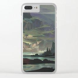 Ravine Clear iPhone Case