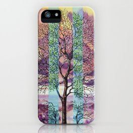A temporary manifestation iPhone Case