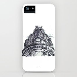 Hand Sketched Dome iPhone Case