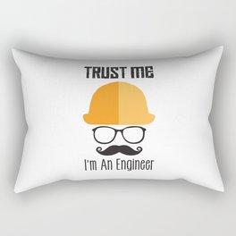 Trust Me I'm An Engineer Rectangular Pillow