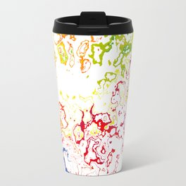 Rainbow Spurt 01 Travel Mug