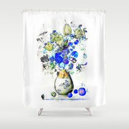 Bl0mp0tje Shower Curtain