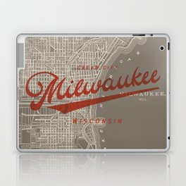 Milwaukee Map Laptop & iPad Skin