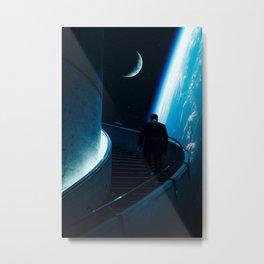 Stairway To Space Metal Print