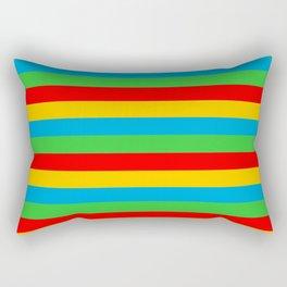 Eritrea flag stripes Rectangular Pillow