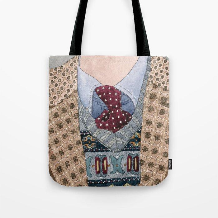 Pattern Dapperness Tote Bag