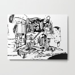 chedar Metal Print