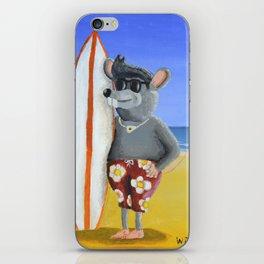 Surf Rat iPhone Skin