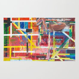 Geometry abstract Rug