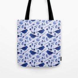 Birds in Winter Tote Bag