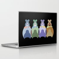 bears Laptop & iPad Skins featuring Bears by TypicalArtGuy