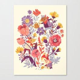 The Garden Crew Canvas Print