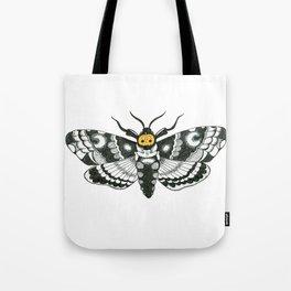 Halloween Death Moth Tote Bag