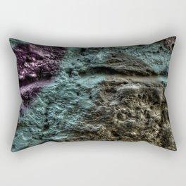 Purple Rock heart Rectangular Pillow