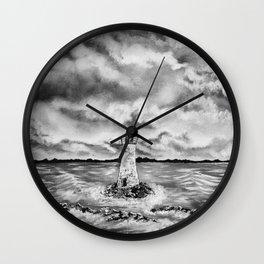 Forgotten Light Wall Clock