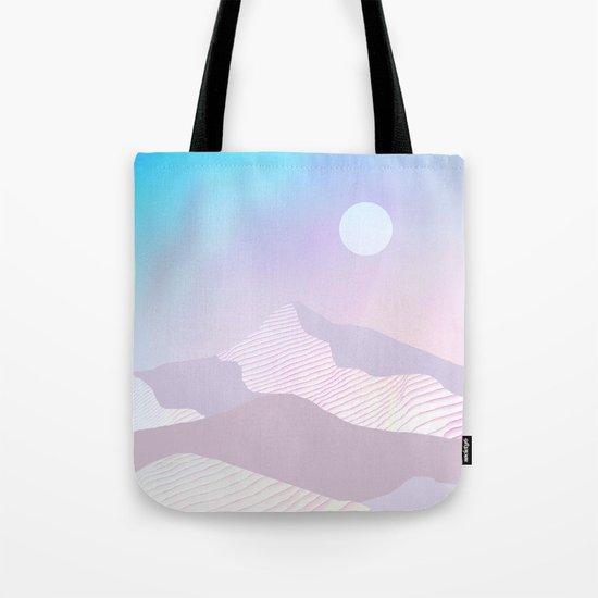 Dune Moon Tote Bag