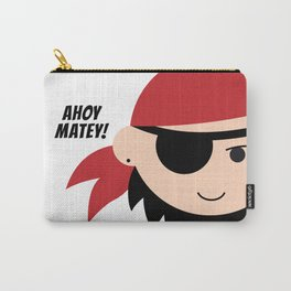 Pirate. Ahoy Matey! Carry-All Pouch
