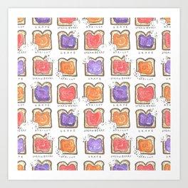 Toasty Art Print
