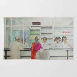 The hospital at Ernakulam Rug