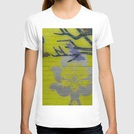 Wall Art Remix Yelllow T-shirt