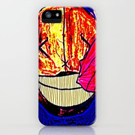 The Moon Is Sick iPhone Case