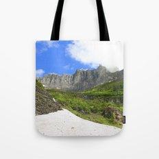 Peaks and Glaciers Tote Bag