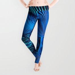 Blue Palms Leggings
