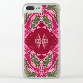 Pattern No. 10 Clear iPhone Case