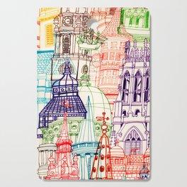 London Towers Cutting Board
