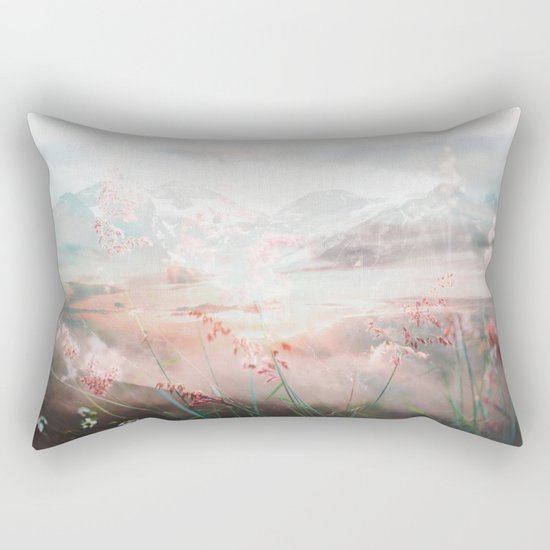 Melting Petals Rectangular Pillow